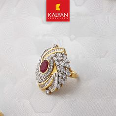 Check This Gorgeous Diamond Ring From Kalyan Jewellers Wedding