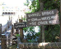 Disney World Tom Sawyer S Island Huck And Quot Tom Hearts