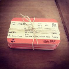London Train Ticket Style Save the Date/Invitation. Personalised to you! Postcard style so envelopes are not included. If you would like