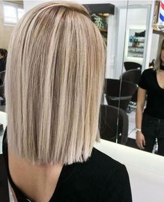 choppy bob hairstyles 28 Straight Bob Haircuts and Colors Shoulder Length To Look Special - Page 12 Medium Hair Styles, Curly Hair Styles, Hair Medium, Medium Length Hair Blonde, Medium Blonde, Straight Bob Haircut, Long Straight Hairstyles, Short Straight Bob, Straight Wigs