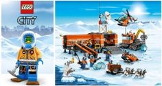 Stay cool and win the LEGO City Arctic range...