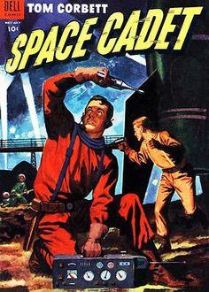 Tom Corbett, Space Cadet #10 1954 - Comic Book Cover Poster