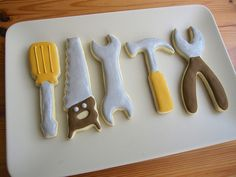 pictures of tool cookies | Tool Cookie Set |