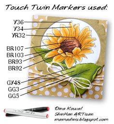 Mama Dini's Stamperia: Sunny Sunflower