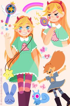 nursh — Star Butterfly Doodles!