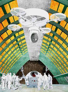 """""""Il dramma spaziale"""" da """"Add it up!"""" - La Macchina Studio (Biennale di architettura 2016, Padiglione Venezia) www.additup.it"""