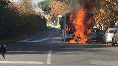 Un altro bus a fuoco a Roma!