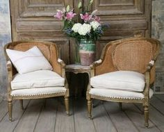 French Bergere Chairs - Ideas on Foter Italian Bedroom Furniture, Cane Furniture, Furniture Ads, French Furniture, Unique Furniture, Cheap Furniture, Rustic Furniture, Furniture Makeover, Furniture Design