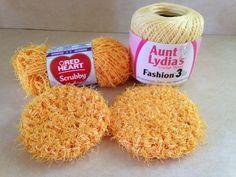 Kitchen Scrubby - Crochet - My Own Pattern                                                                                                                                                                                 More