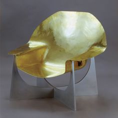 chair, by French artist Philippe Hiquily 60s.