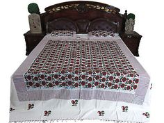 INDIAN-BEDCOVER-FLORAL-PRINT-COTTON-BEDSPREADS-2-PILLOW-COVERS-BEDDING  http://stores.ebay.com/mogulgallery/BEDSPREADS-/_i.html?_fsub=353416419&_sid=3781319&_trksid=p4634.c0.m322