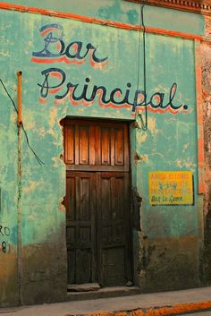 Bar Principal, a famous Mexican bar!