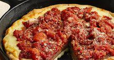 Cast Iron Skillet Deep Dish Pizza