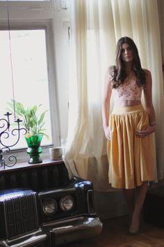 The 'Hollyhock' Skirt by jordanderuiter on Etsy, $188.00