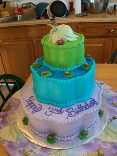 Princess & the Frog themed party for my Princess Joy <3