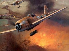 Fw-190 by Jarosław Wróbel