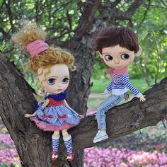 Ooak Blythe custom dolls