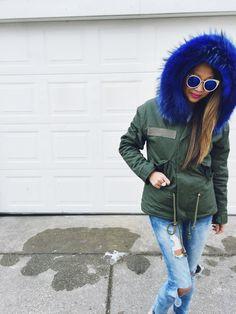 winter fashion, cute coats, winter coats, what to wear in the winter, blue coats