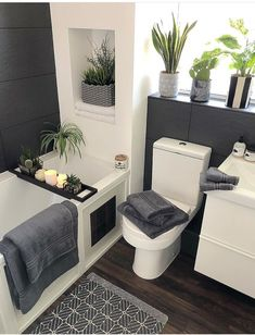 30 affordable small bathroom design ideas for exceptional look 28 Sweet Home, Beautiful Bathrooms, Home Decor Inspiration, Bathroom Inspiration, Bedroom Decor, Grey Bathroom Decor, Bathroom Ideas, Cosy Bathroom, Apartment Bathroom Design