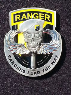 Army ranger Instructor coin - NCOA Marketing would love to assist you with all of your coin needs. Contact us today. Special Ops, Special Forces, Army Rings, 75th Ranger Regiment, Military Challenge Coins, Army Infantry, Military Units, Military Insignia, Morale Patch