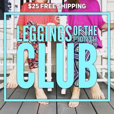 Love LuLaRoe leggings? You'll want to join myLeggings of the Month Club to get the best of my boxes every month!