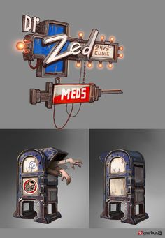 Dr. Zed's Props | Video Games Artwork