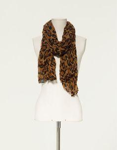 leopard print scarf - I want one of these SOOO bad!