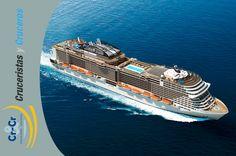 MSC Crociere con 4 nuove navi Meraviglia alimentate da gas naturale liquefatto (GNL)