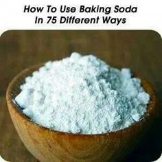 75 different ways to usr baking soda