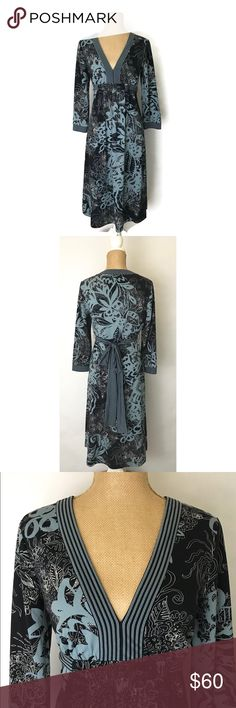 I just added this listing on Poshmark: BCBG Max Azria Dress Floral 3/4 Sleeve Belted. #shopmycloset #poshmark #fashion #shopping #style #forsale #BCBGMaxAzria #Dresses & Skirts