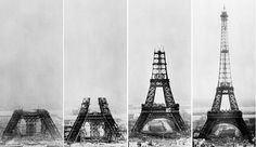 1889, The Eiffel Tower in Paris was completed & officially opened to the public.