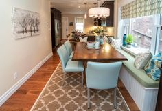 Darl Flooring In Kitchen And Dining Room Designs