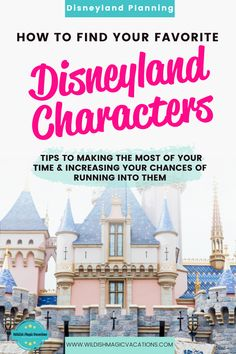 Read this post for a list of who and where you'll find your favorite characters at both Disneyland Park and California Adventure Park on your family's next Disneyland vacation. Includes tips on how to maximize your time and increase your chances of finding them. A must read for Disneyland travel planning. Disneyland Dining, Disneyland Restaurants, Disneyland Resort Hotel, Disneyland Vacation, Disney Hotels, Disney Vacation Club, Disney Vacation Planning, Disneyland California, Disney World Planning
