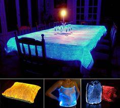 Fiber Optic Cloth by LumiGram