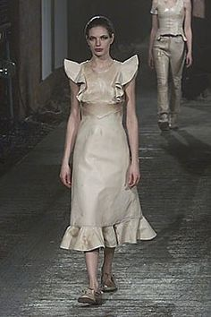 Robert Cary-Williams Fall 2000 Ready-to-Wear Fashion Show