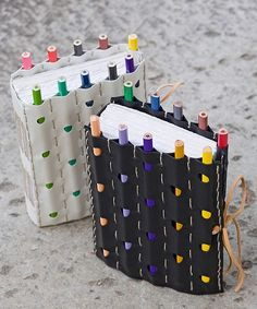 DIY Notebook and Pencil Craft - Click image to find more diy & crafts Pinterest pins