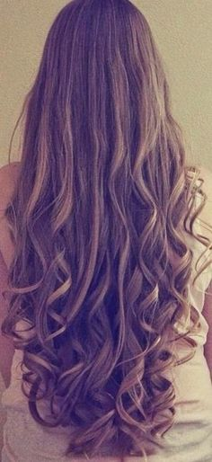 Hair down with curls - Cabello suelto con rizos