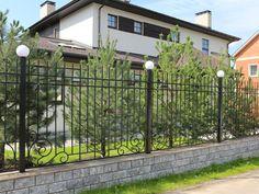 Портфолио | Metal made ковано-сварной забор с опорными столбами http://www.metal-made.ru/portfolio/