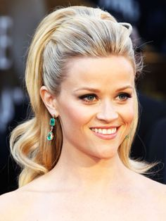 Reese Witherspoon Updo Hairstyle - Celebrity Updo Hairstyle Ideas - Real Beauty