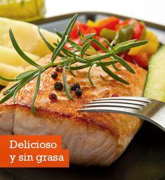 Recetas Bajas en grasa: Salmón