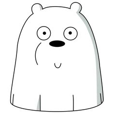 Ice Bear We Bare Bears, We Bear, Bear Meme, We Bare Bears Wallpapers, Motivational Quotes Wallpaper, Bear Wallpaper, Positive Quotes For Life, Aesthetic Stickers, Cute Bears