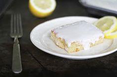 CremedelaCrumb: California {Lemon} Sheet Cake