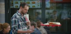 Burger King Goes Back to The Future With Hovertray Viral Marketing, Guerilla Marketing, Marketing Ideas, Power Of The Tongue, Future Days, Funny Ads, Back To The Future, Communication, Campaign