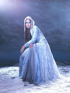 Tarja Turunen  The Queen of Ice with a beautiful voice.