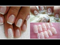 20 ideas of decorated nail designs for brides they use in their marriage Love Time, My Nails, Finger, Wedding Invitations, Nail Designs, Marriage, Hair Beauty, Polish, Nail Art