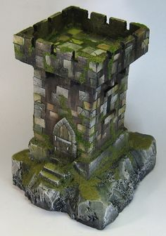 James Wappel Miniature Painting: The Watchtower painted!