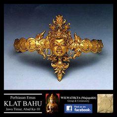Arm Band with Man's Head Indonesian Art, Javanese, Scrap Metal Art, Metropolitan Museum, Culture, History, Antiques, Gold, Ethiopia