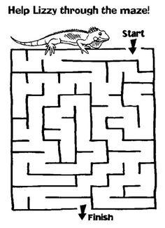 Maze Lizard