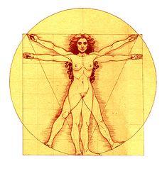 Vitruvian Woman...