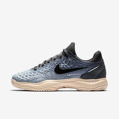 Shop for Nike Zoom Cage 3 Women's Tennis Shoe at ShopStyle. Now for Sold Out. Nike Zoom, Air Max Sneakers, Sneakers Nike, Tennis Equipment, Snug Fit, Girls Shoes, Cage, Me Too Shoes, Nike Air Max